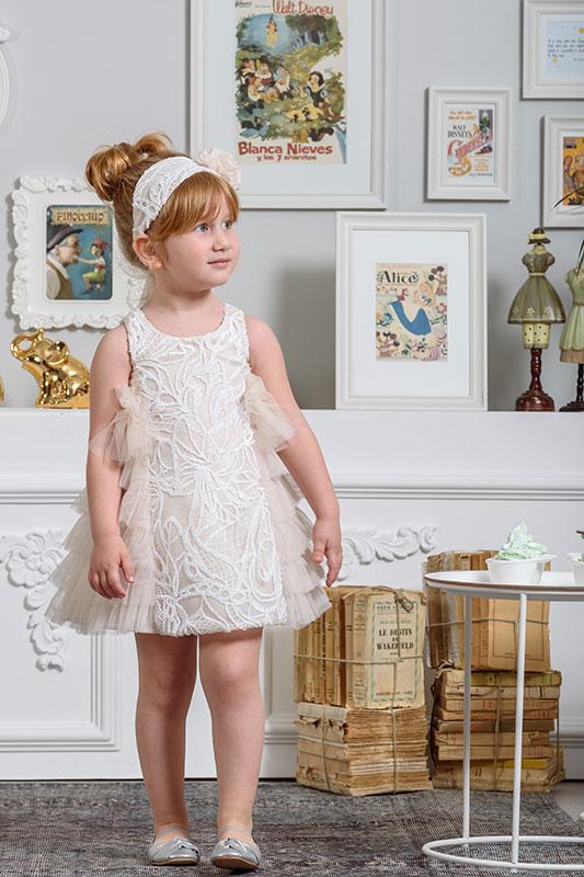 ad6a56f8696 Neonato Βαπτιστικά Ρούχα για Κορίτσι